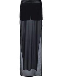 Pantaloncini di seta neri di Gareth Pugh