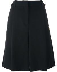 Pantaloncini di seta neri di Givenchy