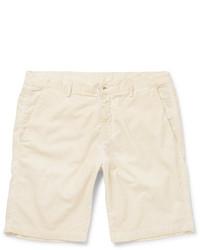 Pantaloncini di velluto a coste beige