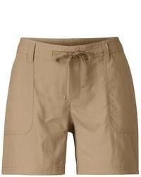 Pantaloncini marroni
