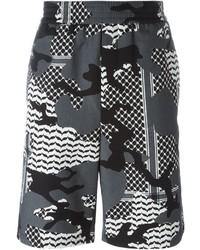 Pantaloncini mimetici grigi