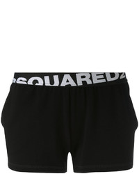 Pantaloncini neri di Dsquared2