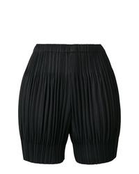 Pantaloncini neri di Pleats Please By Issey Miyake