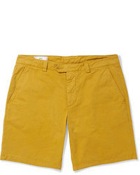 Pantaloncini senapi