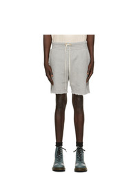 Pantaloncini sportivi grigi