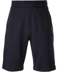 Pantaloncini stampati blu scuro di Emporio Armani