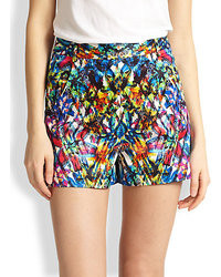 Pantaloncini stampati multicolori