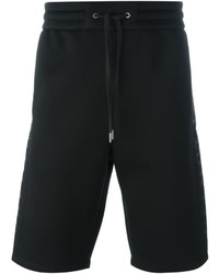 Pantaloncini stampati neri di Helmut Lang