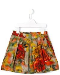 Pantaloncini stampati rossi di Morley