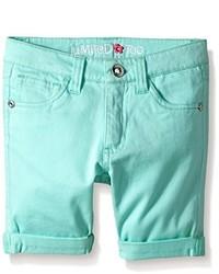 Pantaloncini verde menta