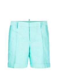 Pantaloncini verde menta di Dsquared2