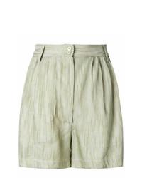 Pantaloncini verde menta di Forte Forte