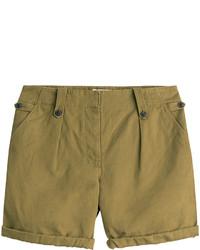 Pantaloncini verde oliva