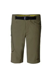 Pantaloncini verde oliva di Jack Wolfskin