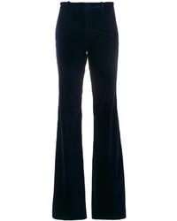 Pantaloni a campana blu scuro di Gucci