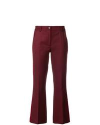 Pantaloni a campana bordeaux di P.A.R.O.S.H.