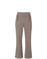 Pantaloni a campana marroni di See by Chloe