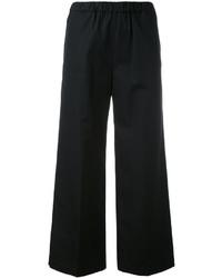 Pantaloni a campana neri di Aspesi