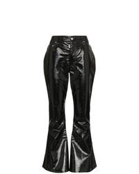 Pantaloni a campana neri di Beaufille