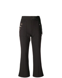 Pantaloni a campana neri di Elisabetta Franchi