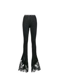 Pantaloni a campana neri di Philipp Plein