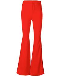 Pantaloni a campana rossi