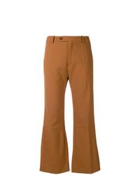 Pantaloni a campana senapi di Chloé