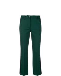 Pantaloni a campana verde scuro di P.A.R.O.S.H.