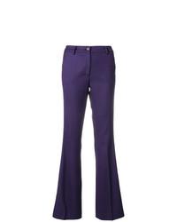 Pantaloni a campana viola di P.A.R.O.S.H.