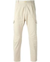 Pantaloni cargo beige