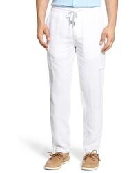 Pantaloni cargo bianchi