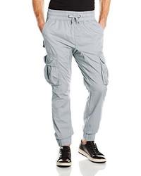 Pantaloni cargo grigi