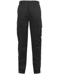 Pantaloni cargo grigio scuro
