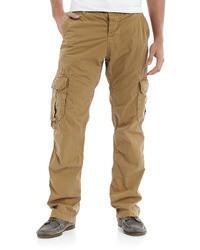 Pantaloni cargo marrone chiaro