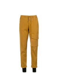 Pantaloni cargo terracotta