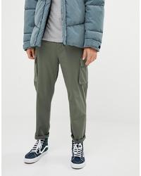 Pantaloni cargo verde oliva di ASOS DESIGN