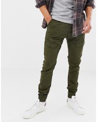 Pantaloni cargo verde oliva di Chasin'