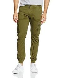 Pantaloni cargo verde oliva di Jack & Jones