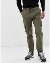 Pantaloni cargo verde oliva di Mennace