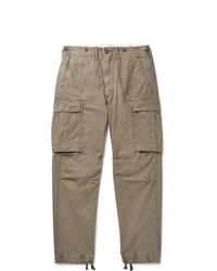 Pantaloni cargo verde oliva di RRL