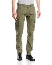 Pantaloni cargo verde oliva di Wrangler