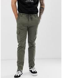 Pantaloni cargo verde oliva di YOURTURN
