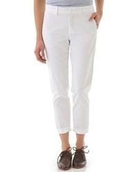Pantaloni chino bianchi