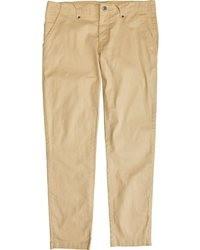 Pantaloni chino marrone chiaro