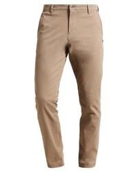 Pantaloni chino marrone chiaro di Mustang