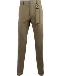 Pantaloni chino marroni di Givenchy