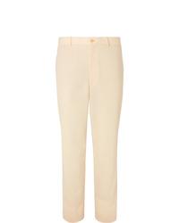 Pantaloni eleganti beige di Auralee