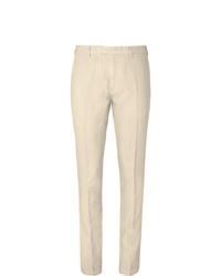 Pantaloni eleganti beige di Boglioli