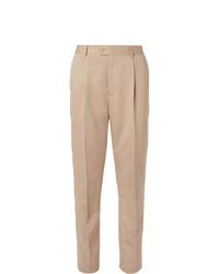 Pantaloni eleganti beige di Brunello Cucinelli