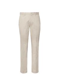Pantaloni eleganti beige di Incotex